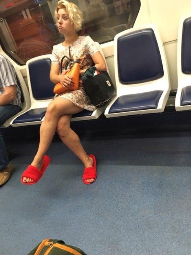 15+ колоритных пассажиров метро, которые плевать хотели на мнение окружающих
