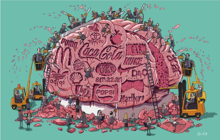 10+ иллюстраций суровой действительности, прекрасно отражающих падение современного общества