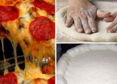Вот единственный правильный рецепт теста для пиццы